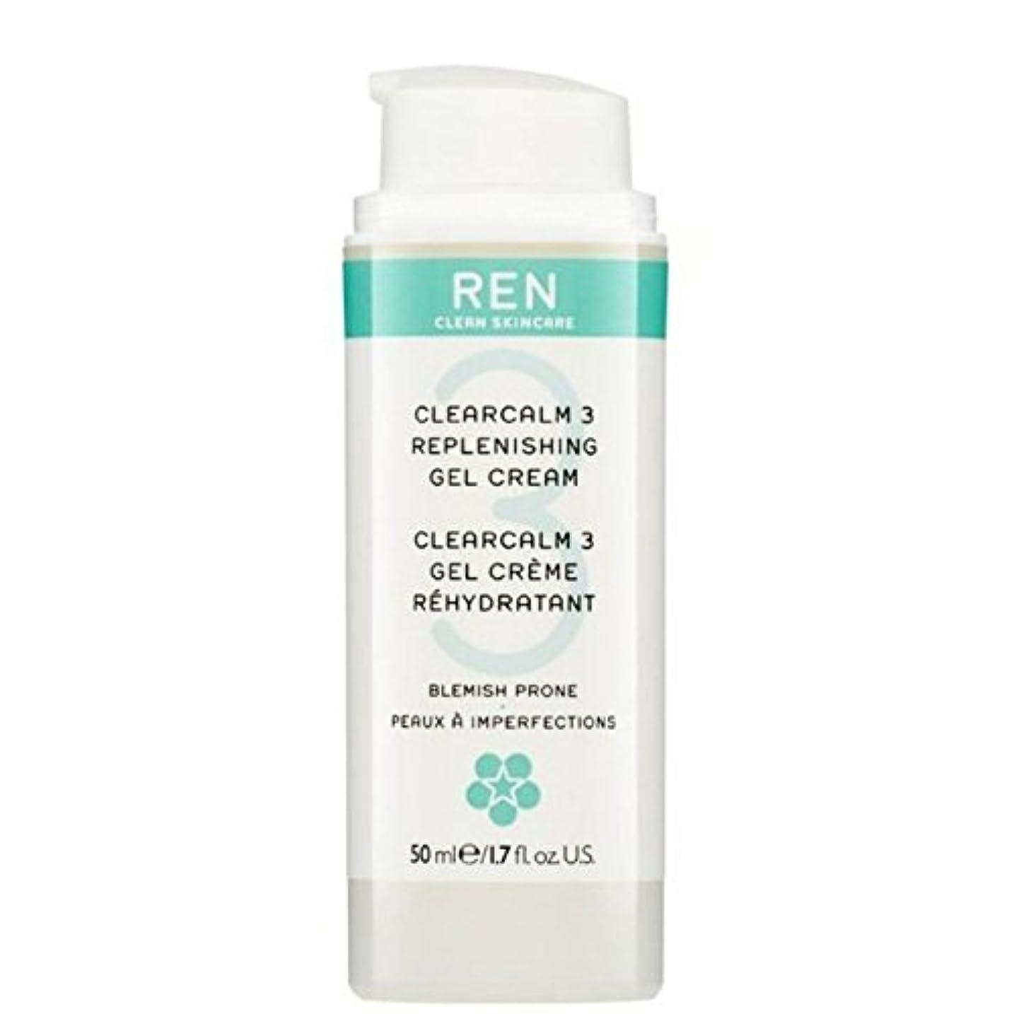 期待傷つけるウォルターカニンガムREN Clearcalm 3 Replenishing Gel Cream (Pack of 6) - 3補給ゲルクリーム x6 [並行輸入品]