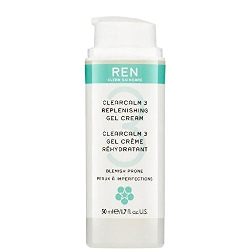 反対布クラフトREN Clearcalm 3 Replenishing Gel Cream (Pack of 6) - 3補給ゲルクリーム x6 [並行輸入品]