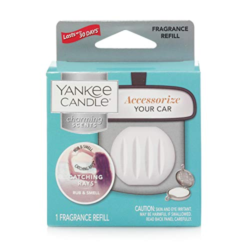 Yankee Candle Charming Scents Car Air Freshener Refill, Catching Rays