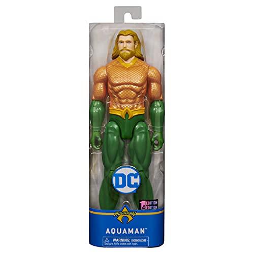 DC Universe Helden se unen – Aquaman 30 cm figura – Los héroes DC Universe se unen – Aquaman – 30 cm figura – ¡Únete al Rey de Atlantis y defensa los mares!