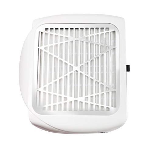 Minkissy Nagelstaub Reinigungsventilator 80 Watt Saugstärke Staubsauger Fan Art Salon Ausrüstung Staubsammler für Nagel Hause Salon