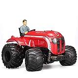 POWER 1:10 2.4G Tractor Eléctrico RC Tractor De Dos Transmisiones Eléctrico A Control Remoto con Coche Buggy Truco De Múltiples Funciones
