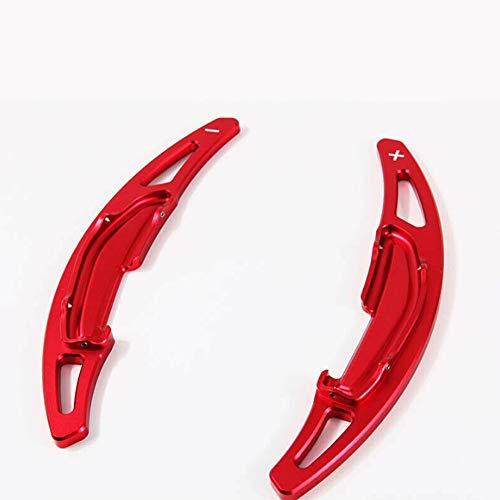 Coche Volante Ajuste para BMW M2 / M3 / M4 / M5 / M6 / X5M / X6M Red Car Shift SHIFT PIETDLE ALUMINIO ALUMINIO RUEDO DE RUEDA DE RUEDA DE CAMBIO CAMBIO DE EXTENSIÓN DE EXTENSIÓN Decorativos para coche