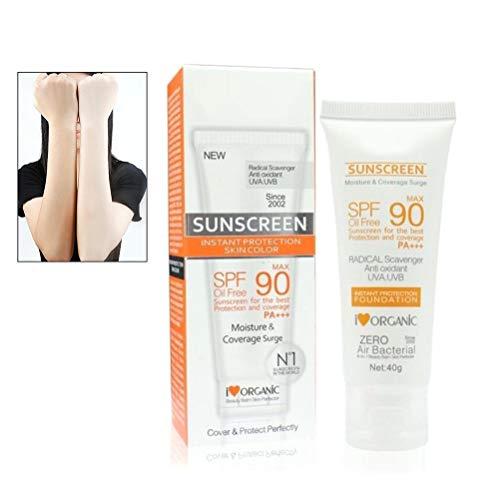 Disaar Dermatologist Summer SPF 90 + Wasserdichte Sonnenschutz Lotion Gesicht Körper Hautpflege Intensiver UV-Sonnenschutz Feuchtigkeitsspendende Feuchtigkeitscreme
