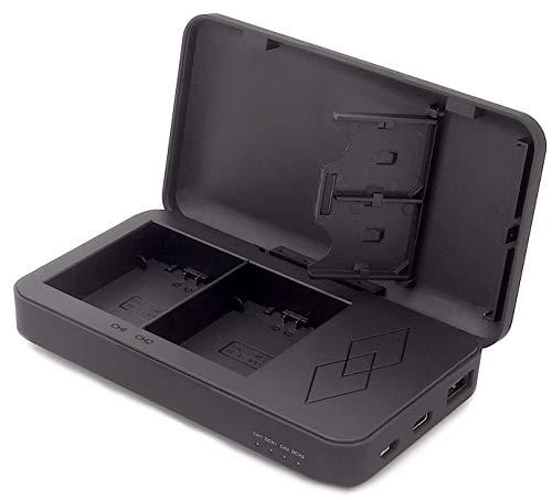 PATONA (9892) NP-FZ100 Akku Ladegerät mit Powerbank Funktion (Powerbook) - innovatives Zwei-Wege Ladegerät mit USB Ausgang