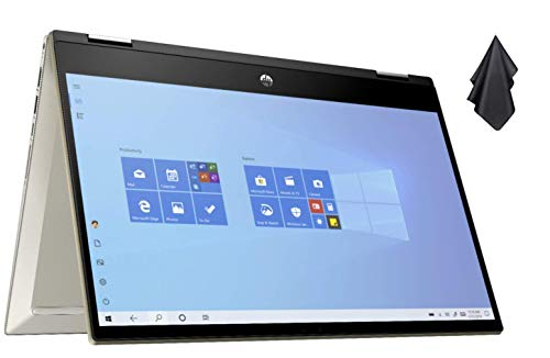 2021 Newest HP Pavilion x360 14' FHD Touchscreen 2-in-1...