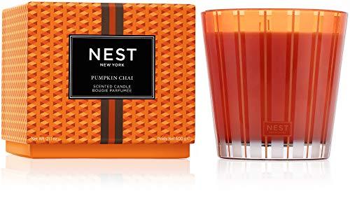 NEST Fragrances 3-Wick Candle- Pumpkin Chai , 21.1 oz - NEST03PC002
