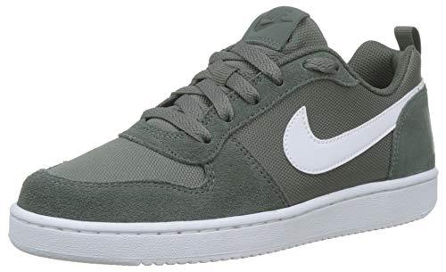 Nike Court Borough Low PE (GS), Scarpe da Basket Bambini e Ragazzi, Verde (Mineral Spruce/Mineral Spruce/Pale Ivory 300), 35.5 EU