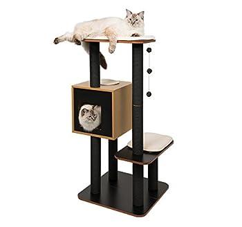Vesper Arbre à chat Haute, Noir