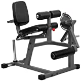 XMark Heavy Duty Adjustable Rotary Leg Extension and Curl Machine Features A 12 Position Adjustable...