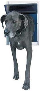 """باب ألومنيوم للحيوانات الأليفة من بيرفكت بت Extra Large, 10.5"""" x 15"""" Flap Size DPDXLW"""