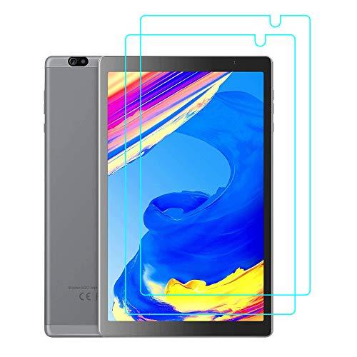 YGoal Funda para Tablet 10 Pulgadas,  [2 Pack] Premium Vidrio Templado para Vankyo MatrixPad S20 10 Pulgada,  YUNTAB 10.1 Pulgada D107 y Prixton T9120 10.1 Pulgada
