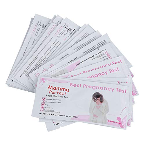 Pregnancy Test Strip,Early Pregnancy Test Paper,LH Urine Tester Kit for Female Daily Care,Rapid Display for Women,20Pcs(Pink White)