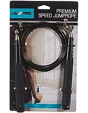 Livepro LP8283H Speed Rope Ağırlıklı Atlama İpi Siyah