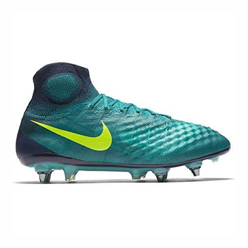 Nike Magista Obra II SG-Pro Mens Football Boots 844596 Soccer Cleats (9, Rio Teal Volt Obsidian 375)