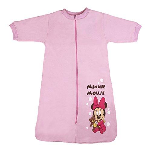 Disney Minnie Mouse Baby- und Kinder- Sommer-Schlafsack Langarm aus Baumwolle, UNGEFÜTTERT, GRÖSSE 56, 62, 68, 74, 80, 92, 98, 104, Modell 2, Größe 104