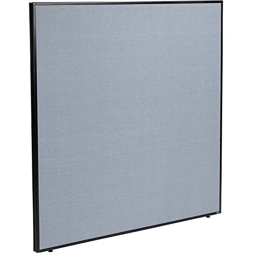 60-1/4W x 60H Office Partition Panel, Blue