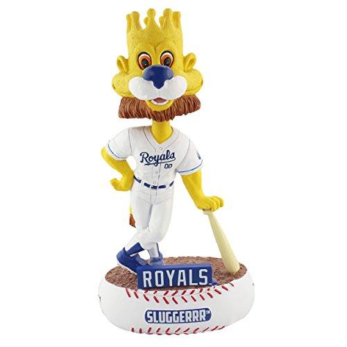 FOCO MLB Kansas City Royals Mascot Baller Bobble, Team Color, One Size