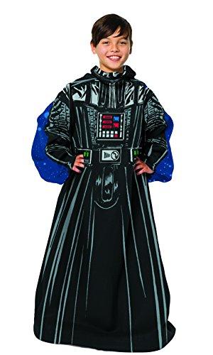 STAR WARS Disney's, Fleet Commander Youth Comfy Throw Blanket with Sleeves, 48