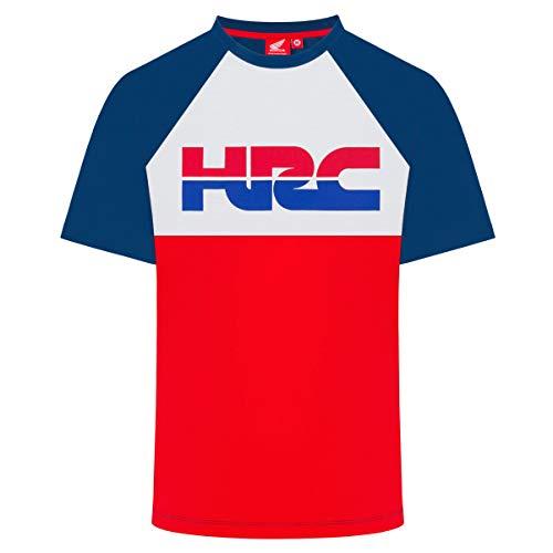2019 Honda Racing HRC MotoGP - Camiseta para Hombre (100% algodón, Tallas S-XXL), Rojo, Mens (S) 98cm/39 Inch Chest
