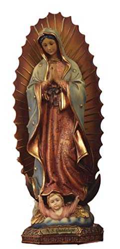 Paben Articoli Religiosi Fortan-Bolsa para Estatua Virgen de Guadalupe de Resina CM. 15