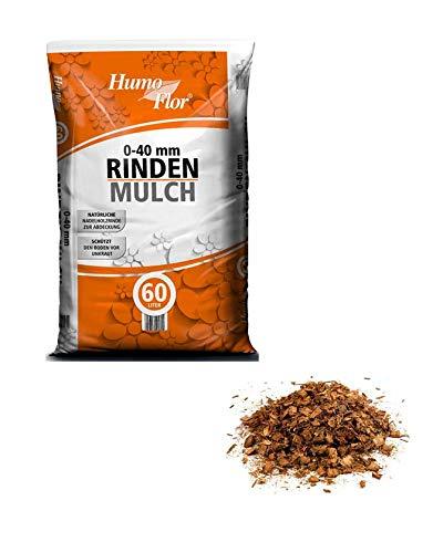 Rindenmulch 60 Liter 0-40 mm v. HumoFlor