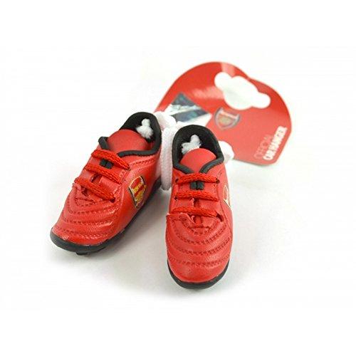 Arsenal FC Football Boots offizieller Anhänger für Autospiegel (Einheitsgröße) (Rot/Schwarz)