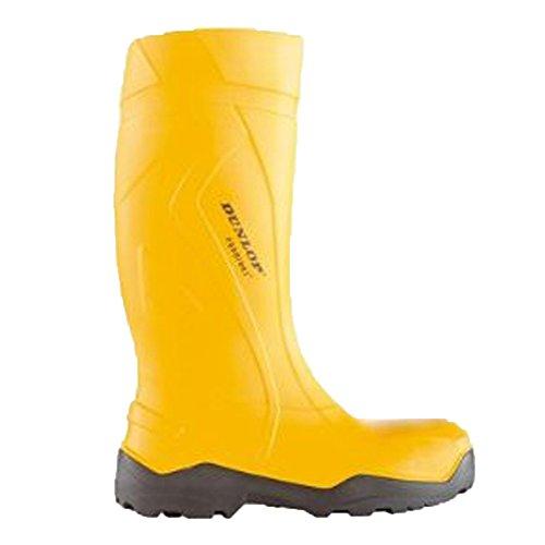 Dunlop Sports Dunlop Purofort Profi Stiefel + MAXIMALE Sicherheit GELB/SCHWARZ, S5 - C762241, Gelb - Giallo (Gelb) - Größe: EU 43 | UK 9 | US 10