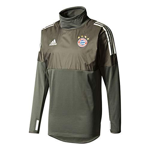 adidas FCB UCL Hybtop FC Bayern Monaco, Maglietta Uomo, Grigio (Carbon/Balcri), XS