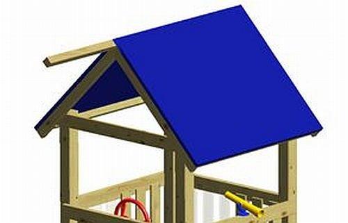 Winnetoo Ersatzdach blaue Dachfolie für Spielturm - 1669