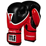 Title Boxing Infused Foam Interrogate Training Gloves 2.0, Red/Black, 18 oz