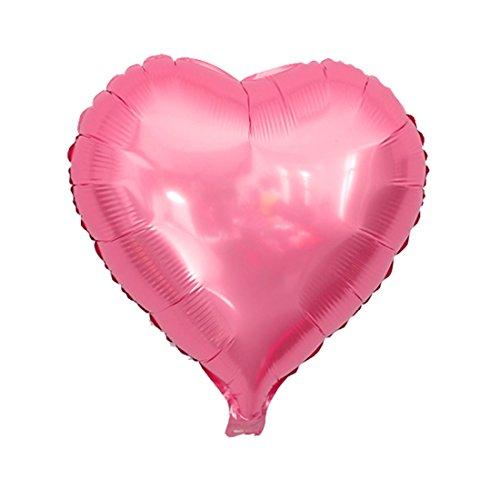 Souarts Roze Hartvormige Liefde Ballonnen Helium Gevulde Valentijnsdag Decoratie 75cm
