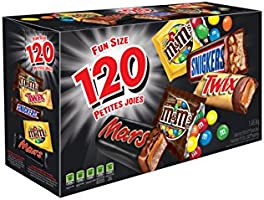 MARS ASSORTED Chocolate Halloween Candy Bars, Variety Pack