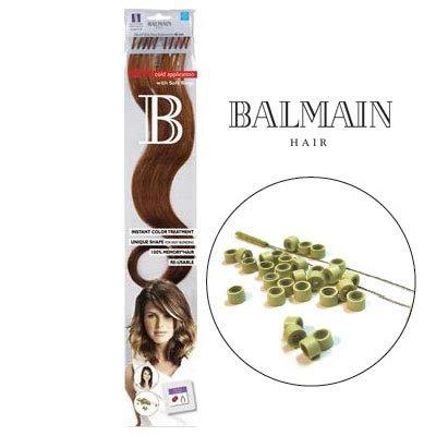 Balmain plusbonds 1.2, Extensions en cheveux naturels lisses 45 cm Pack de 1 (1 x 10 pièces)
