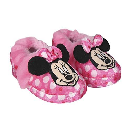 Cerdá Zapatillas de Casa Francesita Minnie, Niñas