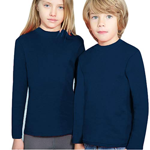 YSABEL MORA 164-70301-MARINO-4 - Camiseta SEMICISNE Termal Niñas Color: Marino Talla: 4