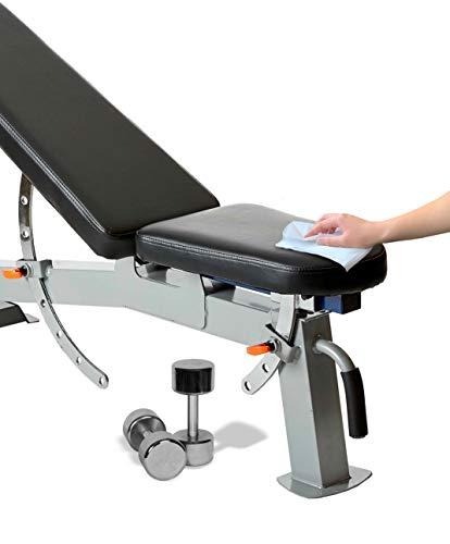 41zDYVdwySL - GERMISEPT WALL MOUNT DISPENSER + 2 800 CT ROLLS COMBO - Multipurpose Gym Wipes & Wellness Center Cleaning Wipes/Cart Wipes (Dispenser + 2 Rolls)