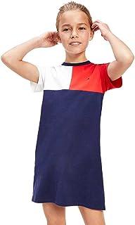 Tommy Hilfiger girls STRIPE RIB DRESS S/S Dress