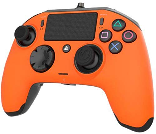 Nacon Revolution Pro Controller - Mando alámbrico, color naranja (PS4)