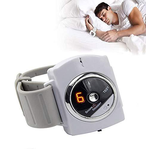 Schnarchhilfen Schnarchen Armbandgerät, Infrarot-Schlafmassagegerät zur Behandlung von Schlaflosigkeit Effektive Schnarchlinderung bei Männern und Frauen