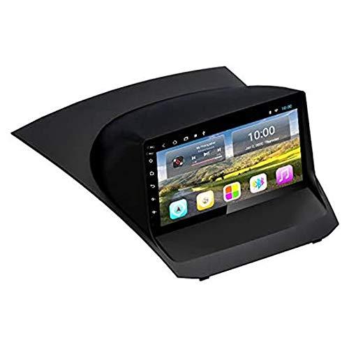 YLCCC Android 9.0 Coche Estéreo para Ford Fiesta 2009-2017 9 Pulgadas HD Pantalla táctil GPS Navigation Media Player Receptor con Enlace de Espejo FM Am Turing Wheel Control,8 Core 4g+WiFi: 2+32gb