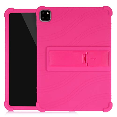 Funda Protectora para iPad para iPad Pro 11 Pulgadas (2018) Funda Protectora de Silicona Tablet PC con Soporte Invisible Wenhengshangmaoyuxiangongsi (Color : Purple)