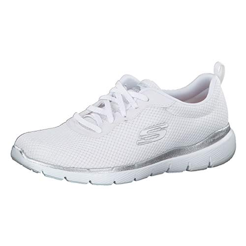 Skechers Damen Sneaker Flex Appeal 3.0 - First Insight 13070 White 38.5