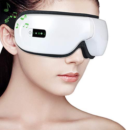 Elektrisches Augenmassagegerät, MANLI Bluetooth Augenmassagegerät Vibration...