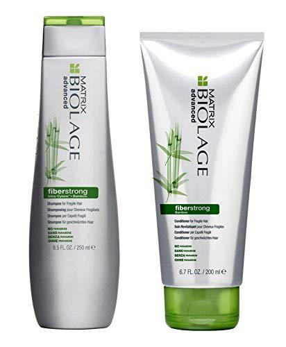 Matrix Biolage Advanced - Fiberstrong, shampoo da 250ml e balsamo da 200ml