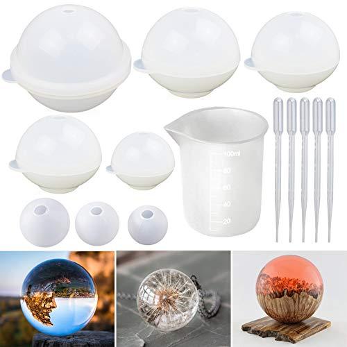 plastic resin balls - 5