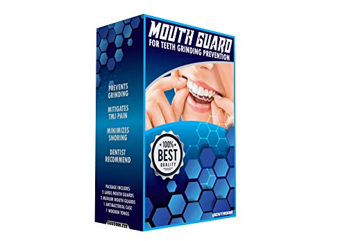 MOUTH GUARD FOR TEETH GRINDING PREVENTION 4 X PREFESSIONAL DENTAL NIGHT...