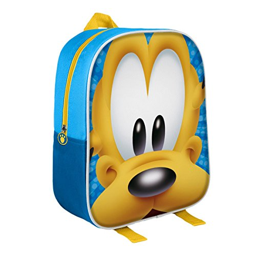 Disney 2100001596 Junior rugzak met Pluto 3D-effect 31 cm