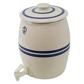 Ohio Stoneware 2 Gallon Kombucha Keg Lid and Spigot