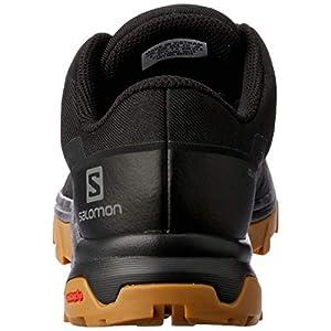 Salomon Women's Outbound GTX Hiking Shoes, Black/Black/GUM1A, 8.5